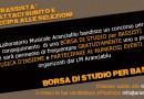 BORSA DI STUDIO PER BASSISTI