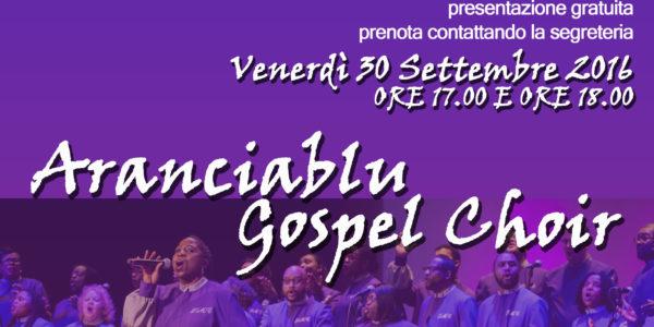 Laboratorio di coro Gospel tenuto da Rita Ciccarelli _ Venerdì 30 Settembre 2016