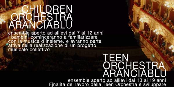 Presentazione laboratori Children e Teen __Orchestra Aranciablu