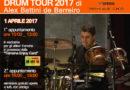Alex Battini de Barreiro _ Drum Tour 2017