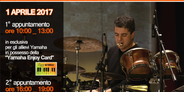 Alex Battini de Barreiro _ Drum Tour 2017