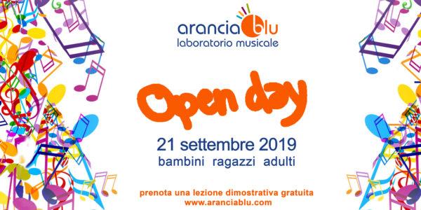 OPEN DAY MUSICA // Sabato 21 SETTEMBRE_2019 …Prenota subito la tua lezione dimostrativa Gratuita!