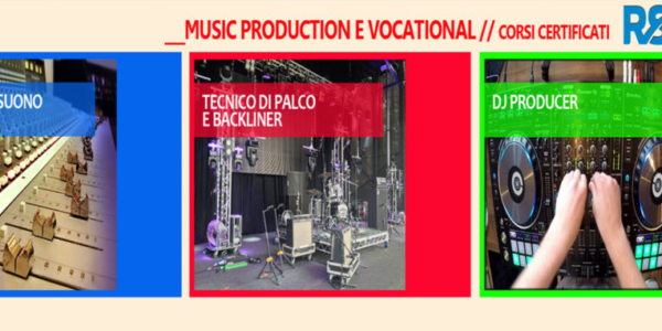 MUSIC PRODUCTION E VOCATIONAL _CERTIFICATI RSL Awards